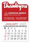 Custom Thank You Standard Pad Value Stick Calendar