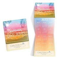 Beach Trifold Calendar