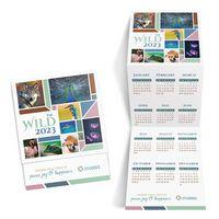 Wildlife Trifold Calendar