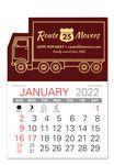 Custom Truck Standard Pad Value Stick Calendar