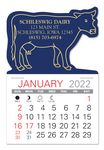 Custom Cow Standard Pad Value Stick Calendar