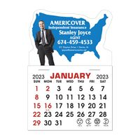 Stick It Decal 1 Month Calendar Pads - United States