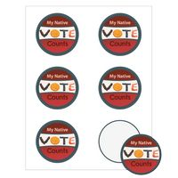 "Round Quick & Colorful Sheeted Label (2 3/4"" Diameter)"