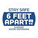 Custom Stay Safe Stickers (3