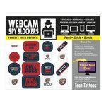 Custom Webcam Spy Blockers Tech Tattoos (4 1/2