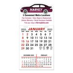Stick It Magnet 3 Month Calendar Pads - Car