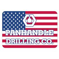 "Rectangle White Vinyl Hard Hat Decal (1 3/4""x2 5/8"")"