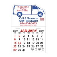 Stick It Decal 1 Month Calendar Pads - Van