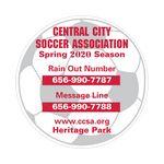 Soccer Ball Sports Magnet