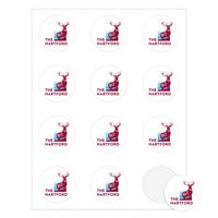 "Round Quick & Colorful Sheeted Label (2"" Diameter)"