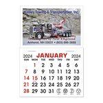 Custom Stick It Decal Calendar Pads - Rectangle w/Square Corners