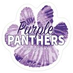 Paw Print Full Color Sports Magnet