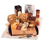 Custom Java Bamboo Board with Gourmet Selections