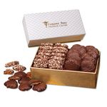 Custom English Butter Toffee & Pecan Turtles in Pillow Top Gift Box