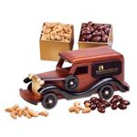 Custom 1930-Era Delivery Van with Chocolate Almonds & Extra Fancy Jumbo Cashews