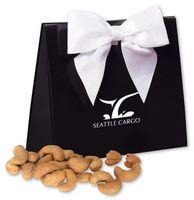 Jumbo Cashews in Black & White Triangular Gift Box