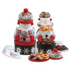 Custom Festive Snowman Tower