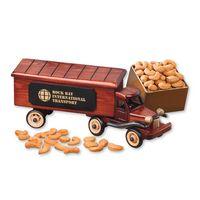 1940-Era Tractor-Trailer Truck with Extra Fancy Jumbo Cashews