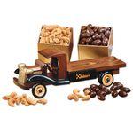 Custom 1930-Era Flat Bed Truck with Chocolate Almonds & Extra Fancy Jumbo Cashews