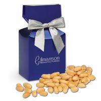 Choice Virginia Peanuts in Metallic Blue Gift Box