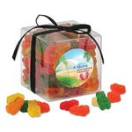 Custom Stylish Acetate Cube with Gummy Bears