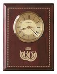 Custom Howard Miller Honor Time II Award Clock Plaque w/ Inlaid Marquetry