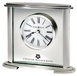 Custom Howard Miller Glenmont Oval Shaped Metal Tabletop Clock