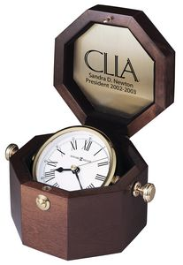 Howard Miller Oceana Gimbaled Windsor Octagon Captains Clock