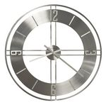 Custom Howard Miller Stapleton wrought iron gallery wall clock