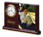 Custom Howard Miller Rosewood Hall Portrait Caddy Clock