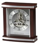 Custom Howard Miller Templeton Rosewood Clock w/Skeleton Movement
