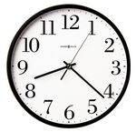Custom Howard Miller Office Mate round wall clock