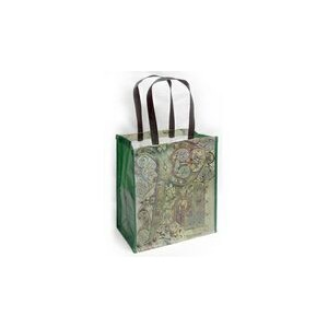 "Laminated Woven Polypropylene Muscle Tote Bag (12""x8""x13"")"