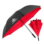 Custom The Grand Inversa Inverted Umbrella - Manual-Open, Reverse Closing