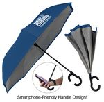 Custom The ViceVersa Inverted Umbrella - Manual-Open, Reverse Closing