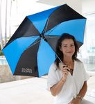 Custom The Spectrum Auto-Open Folding Umbrella