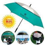 Custom The Vented UV Blocking Golf/Beach Umbrella