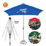 Custom The Vented Cafe Market Umbrella -- Commercial Quality