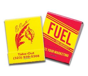 20 Strike Stock Color Matchbooks (Red Ink & Yellow Board)