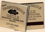 Custom 30 Strike Foil Matchbooks (Black Ink & Gold Board)