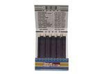 Custom 20 Strike Stock Color Reverse Print Matchbooks (White Ink & Blue Board)