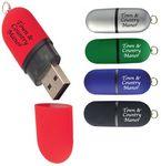 Oval USB Drive - 8 GB