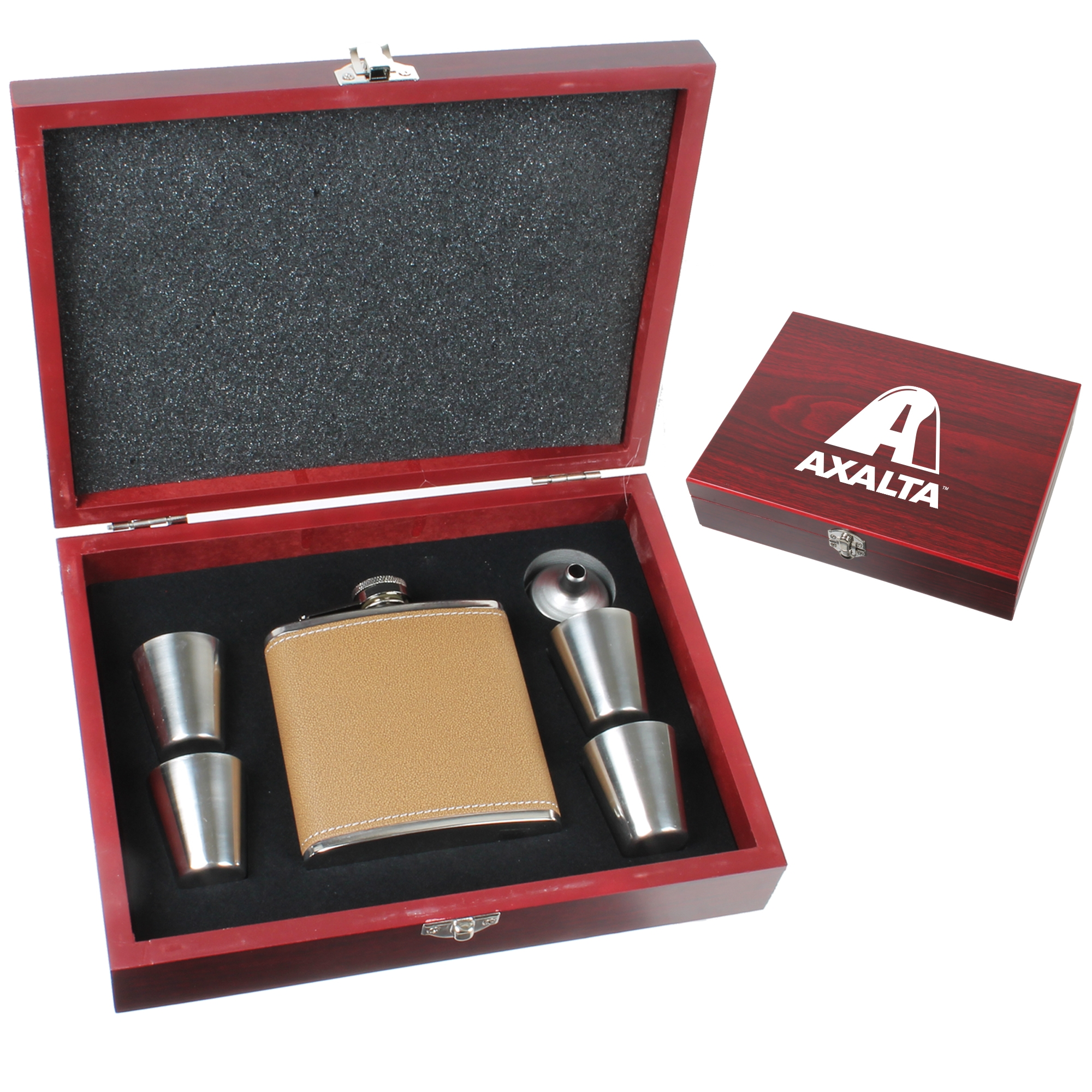 6 Oz. Flask Set