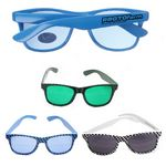 Custom Checkered Sunglasses