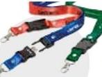 Custom Seat Belt Buckle USB Drive w/ Lanyard - 128 MB