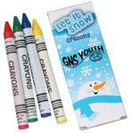 Custom Winter Crayons