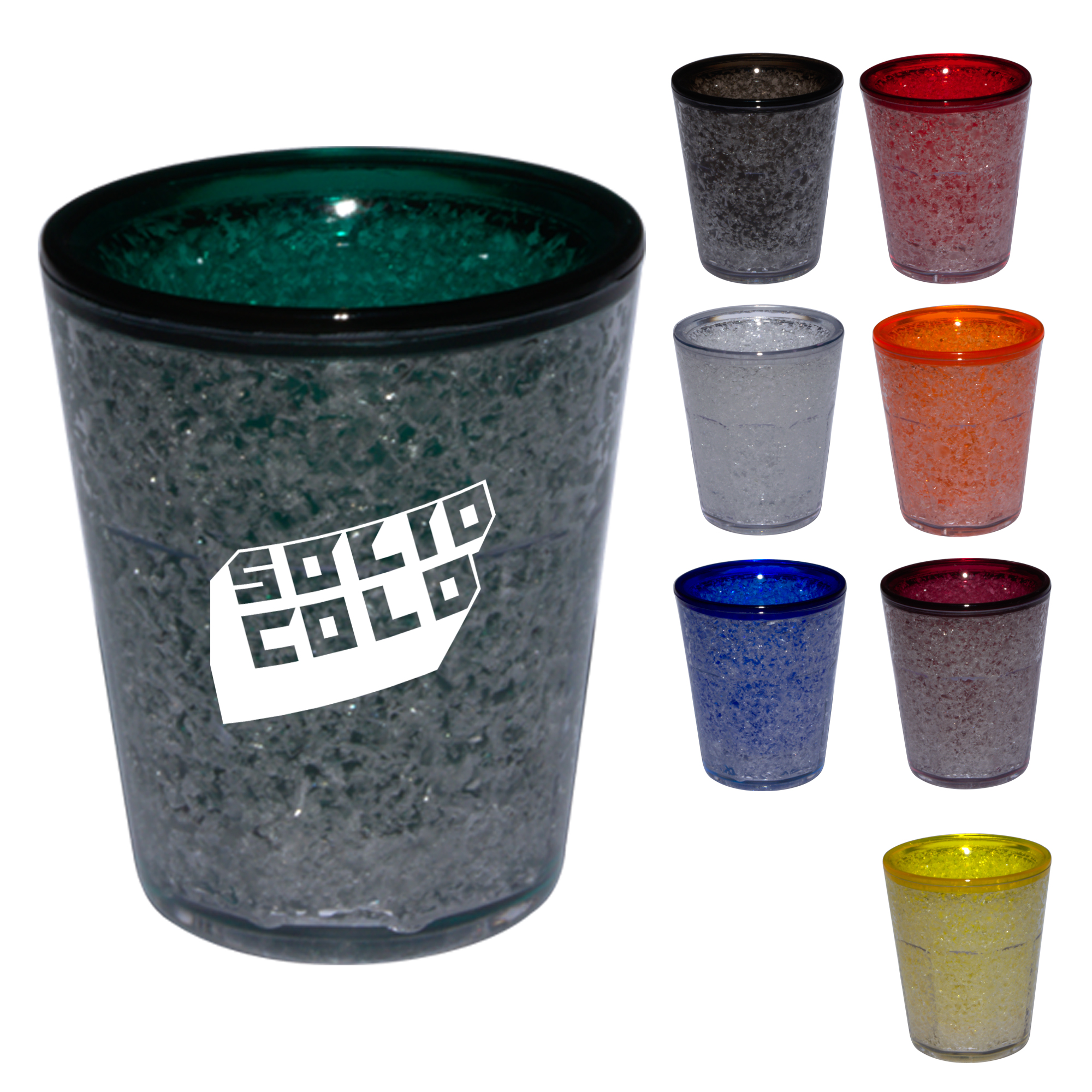 Freeze Gel 1.5 Oz. Shot Glass