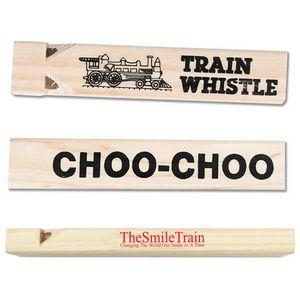 Custom Printed Train Whistles!