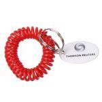 Custom Bracelet Coil Keychain