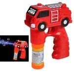 Custom Fire Truck Bubble Gun